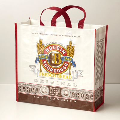 Tote - Boudin Logo Reusable Bag#A51625