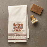 New!! Medallion Tea Towels Set  (2) #A50603 THUMBNAIL