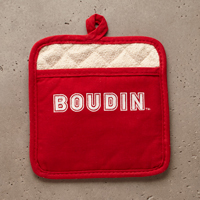 Potholder - Boudin Logo (Red) #A53176