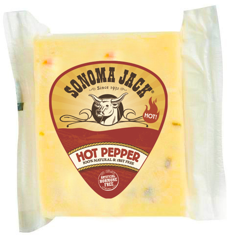 Sonoma Jack Hot Pepper Cheese #A70078 MAIN