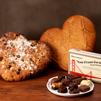 NEW!! Boudin Sourdough & See's Gift #982 MAIN