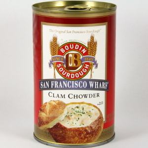 Boudin Clam Chowder Cans 6 Pack  #A213 THUMBNAIL