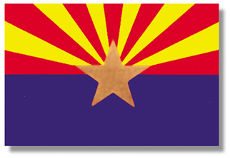 <big>Arizona State Flag</font></big> THUMBNAIL