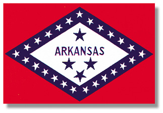 <big>Arkansas State Flag</font></big> THUMBNAIL
