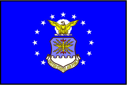 AIR FORCE FLAG THUMBNAIL