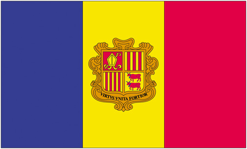 <big>Andorra  Flag</font></big> MAIN