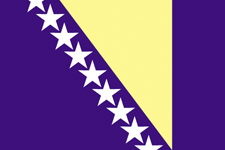 <big>Bosnia - Herzegovina  Flag</font></big> MAIN
