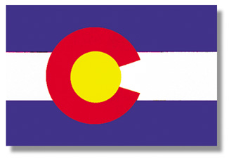 <big>Colorado State Flag</font></big> THUMBNAIL