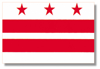 <big>District of Columbia Flag</font></big> THUMBNAIL