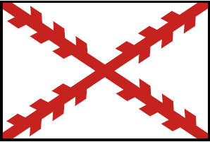 <big>Cross of Burgundy Flag</font></big> THUMBNAIL
