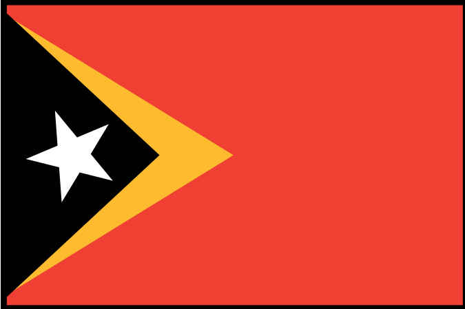 East Timor Flag MAIN