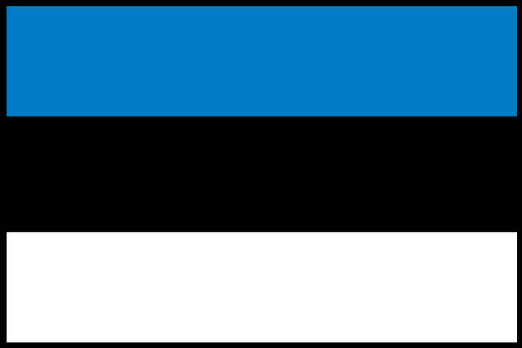 Estonia Flag THUMBNAIL