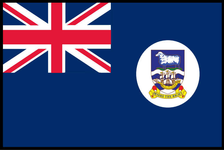 Falkland Islands Flag THUMBNAIL