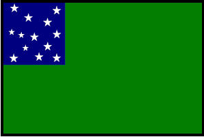 <big>Green Mountain Boys Flag</font></big> THUMBNAIL