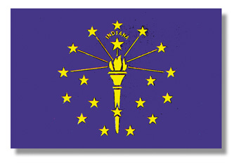 <big>Indiana State Flag</font></big> MAIN