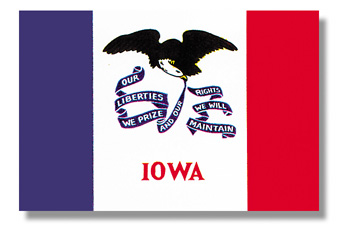 <big>Iowa State Flag</font></big> MAIN