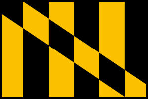<big>Lord Baltimore Flag</font></big> THUMBNAIL
