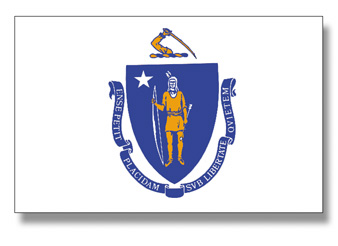 <big>Massachusetts State Flag</font></big>