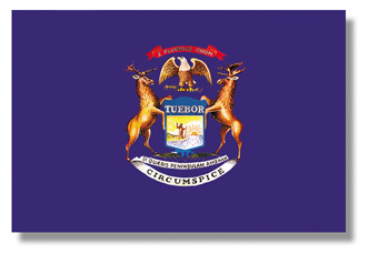 <big>Michigan State Flag</font></big>