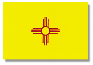 <big>New Mexico State Flag</font></big> THUMBNAIL