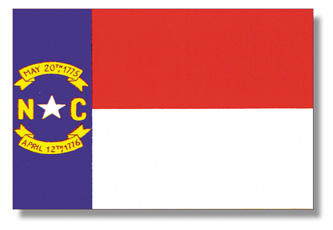 <big>North Carolina Flag</font></big> THUMBNAIL