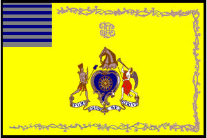 <big>Philadelphia Light Horse Troop Flag</font></big> THUMBNAIL