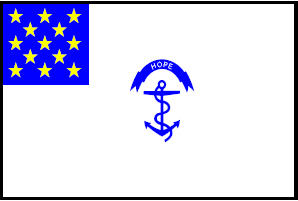 <big>Rhode Island Regiment Flag</font></big> THUMBNAIL