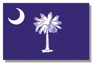 <big>South Carolina State Flag</font></big> THUMBNAIL