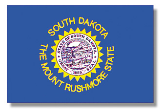<big>South Dakota State Flag</font></big> THUMBNAIL