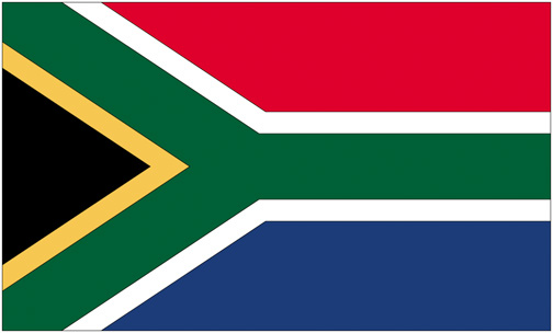 <big>South Africa Flag</font></big> THUMBNAIL