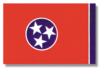 <big>Tennessee State Flag</font></big> THUMBNAIL