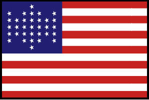 <big>Union Civil War Flag</font></big> THUMBNAIL