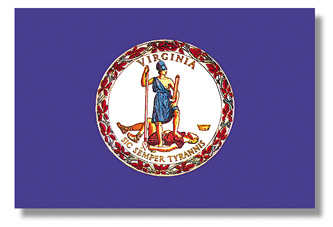 <big>Virginia State Flag</font></big> THUMBNAIL