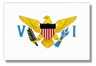 <big>U.S. Virgin Islands Flag</font></big> THUMBNAIL