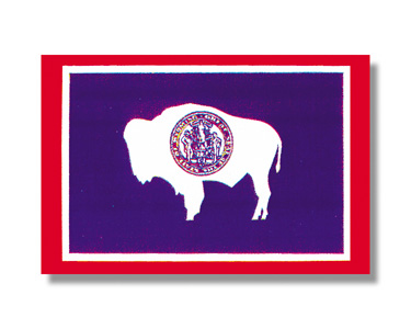 <big>Wyoming State Flag</font></big> THUMBNAIL