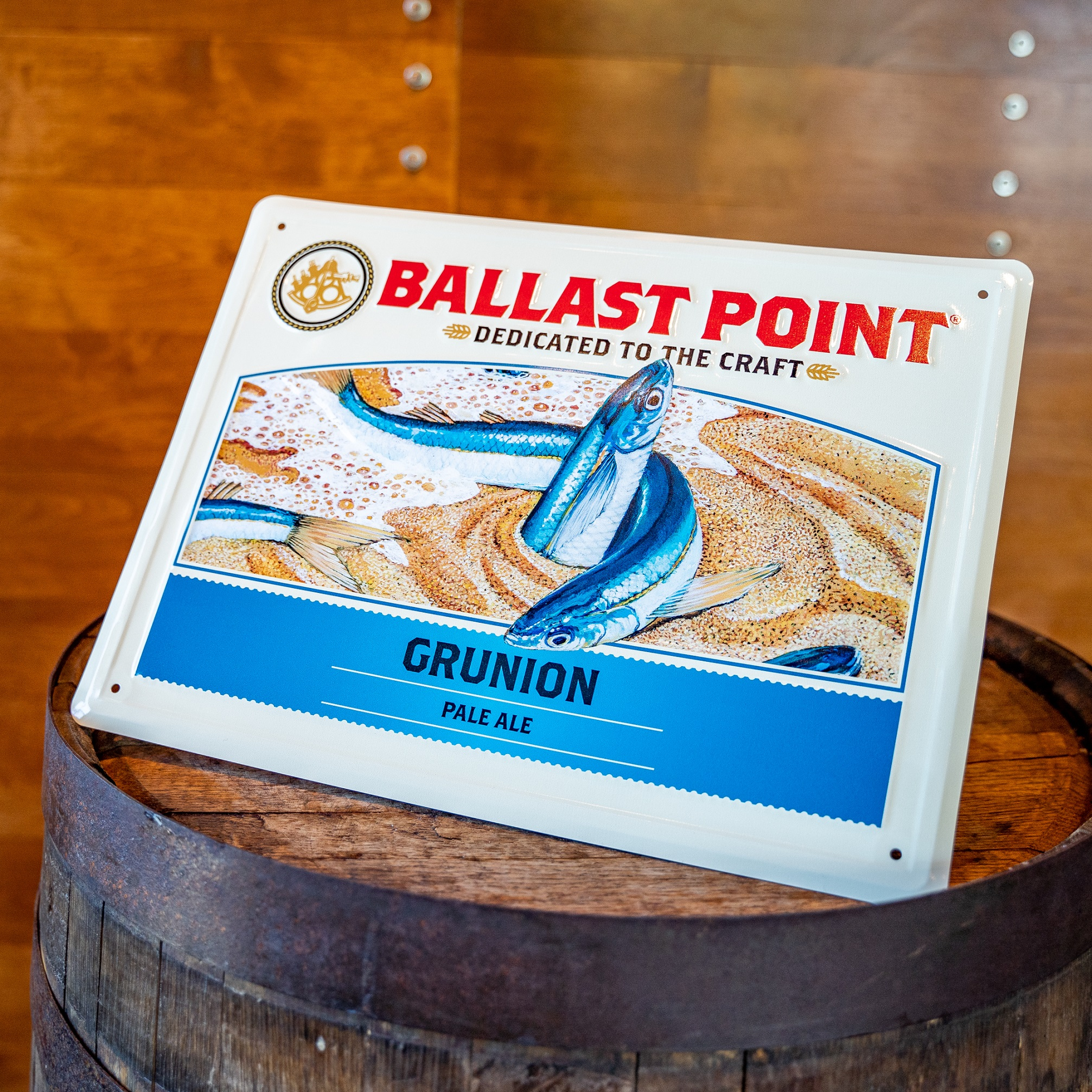 Grunion Tin Sign THUMBNAIL