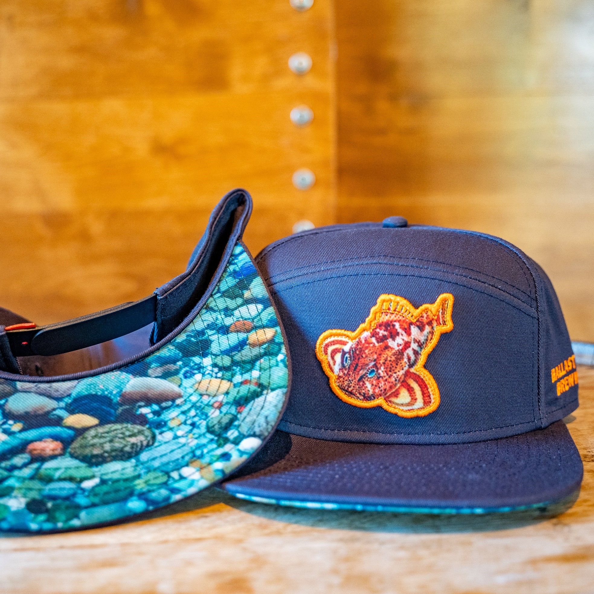 Ballast Point Sculpin Tradesman Hat Navy THUMBNAIL