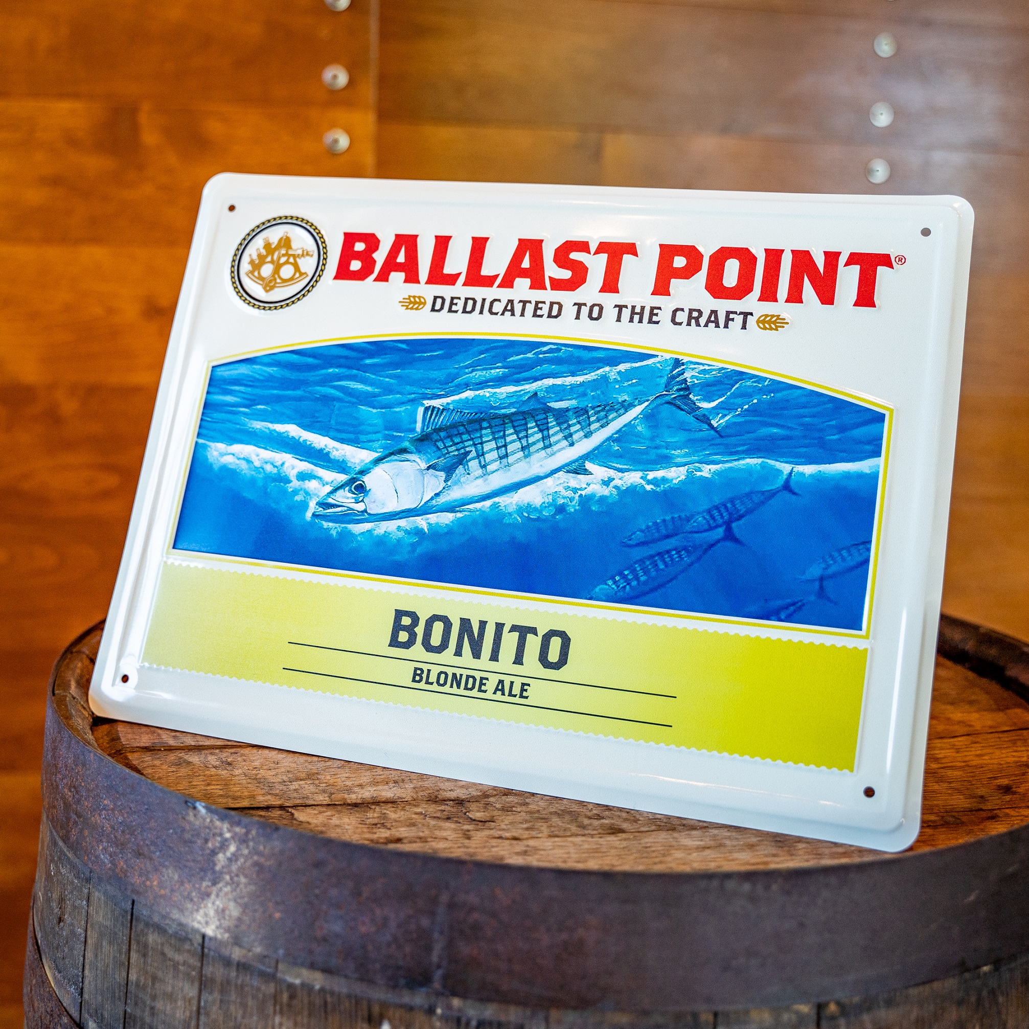 Bonito Tin Sign THUMBNAIL