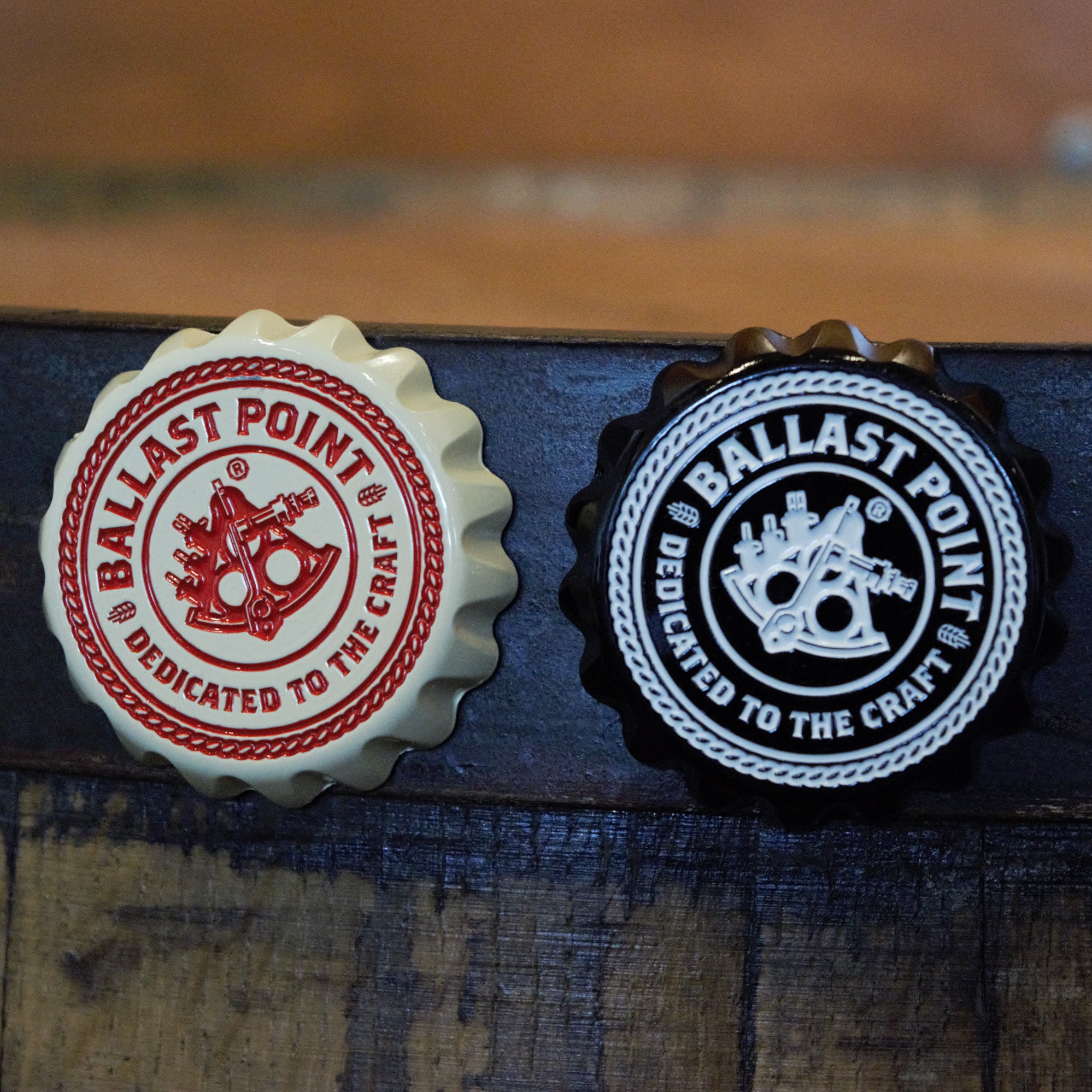 Ballast Point Bottle Cap Magnet Opener THUMBNAIL