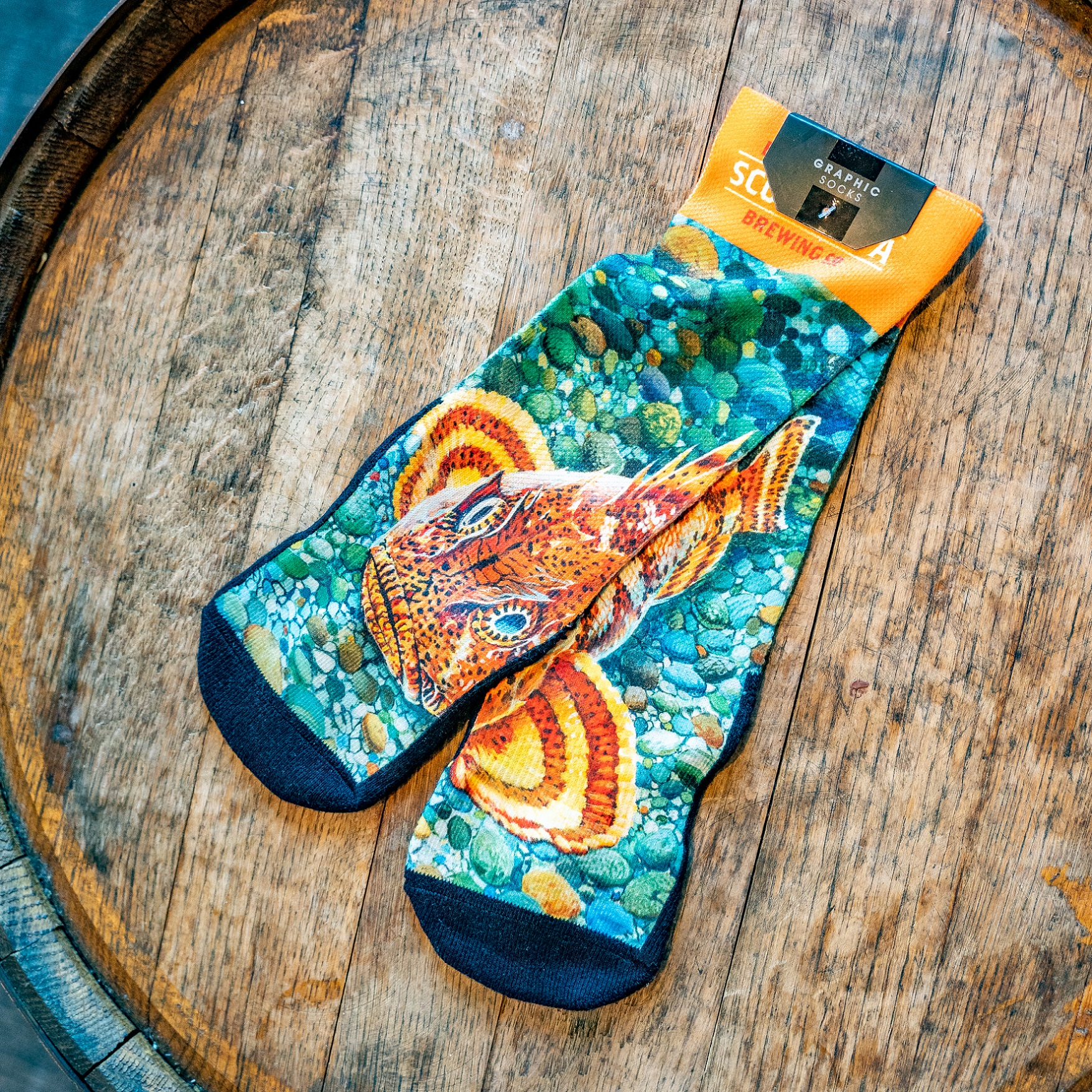 Ballast Point Sculpin Socks THUMBNAIL