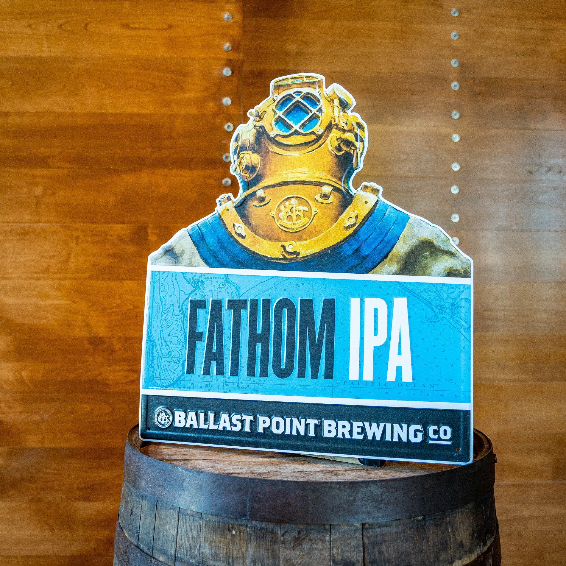 Ballast Point Fathom IPA Tin Sign THUMBNAIL