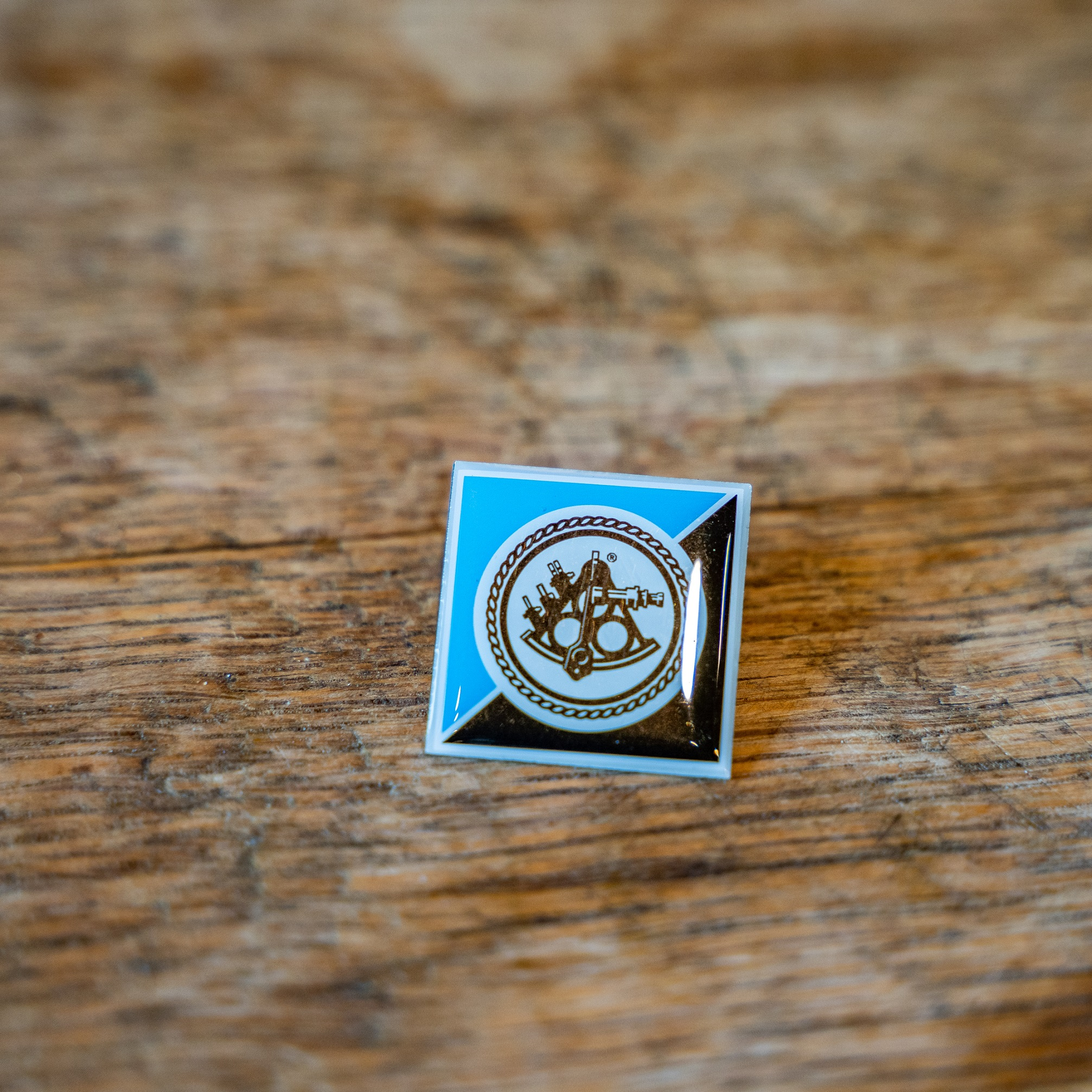 Ballast Point Blue and Black Pin THUMBNAIL