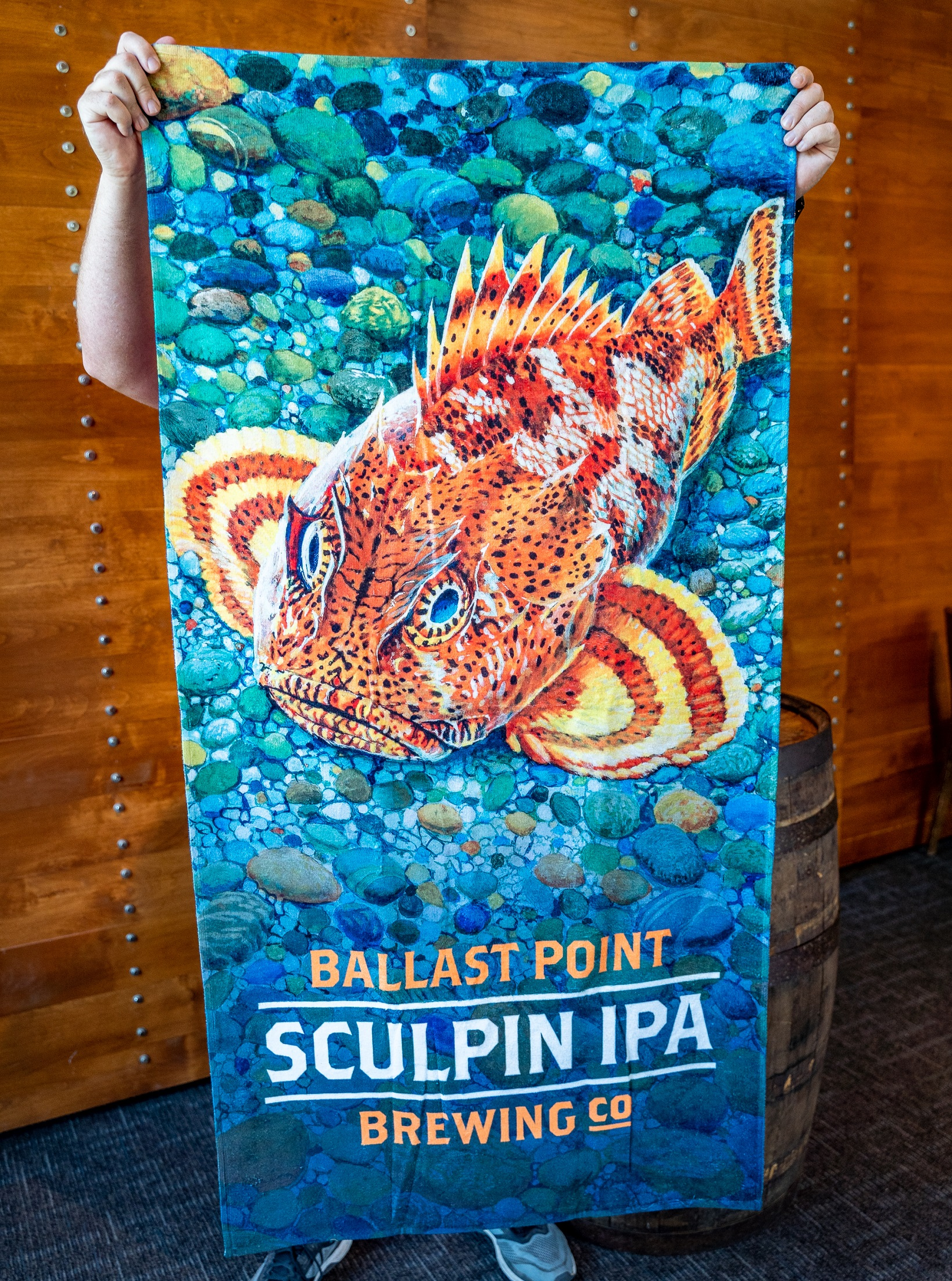 Ballast Point Sculpin Beach Towel THUMBNAIL