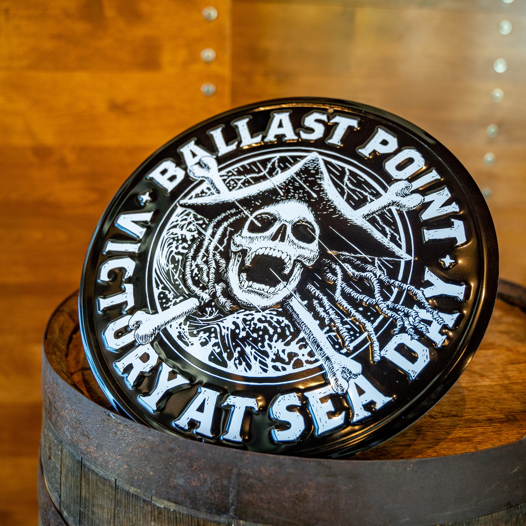 Ballast Point Victory at Sea Round Sign THUMBNAIL