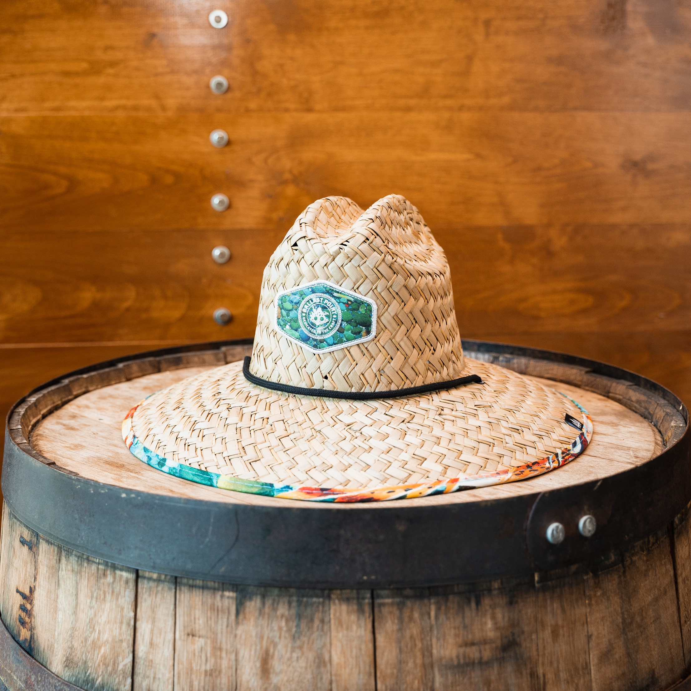 Ballast Point Sculpin Hemlock Straw Hat SWATCH