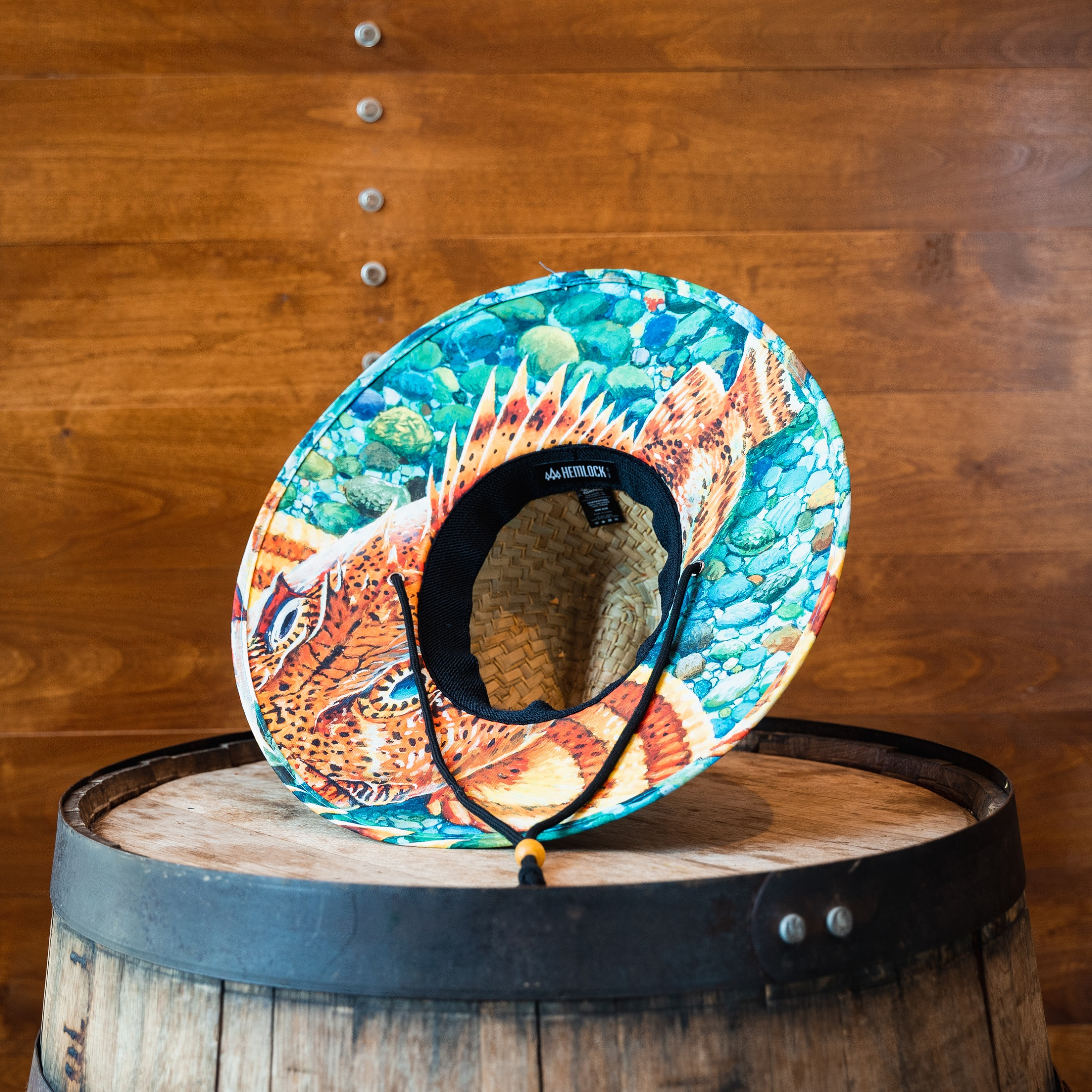 Ballast Point Sculpin Hemlock Straw Hat LARGE