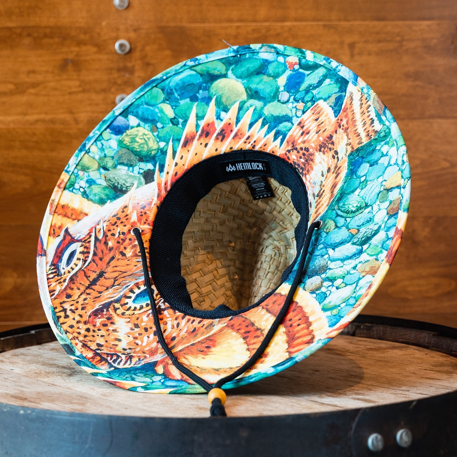 Ballast Point Sculpin Hemlock Straw Hat THUMBNAIL
