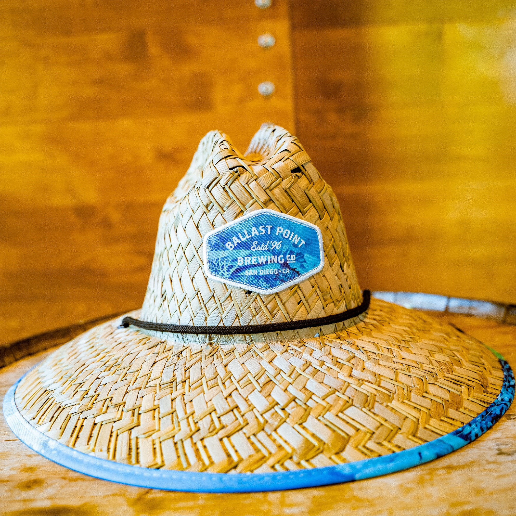 Ballast Point Fathom IPA Hemlock Straw Hat SWATCH