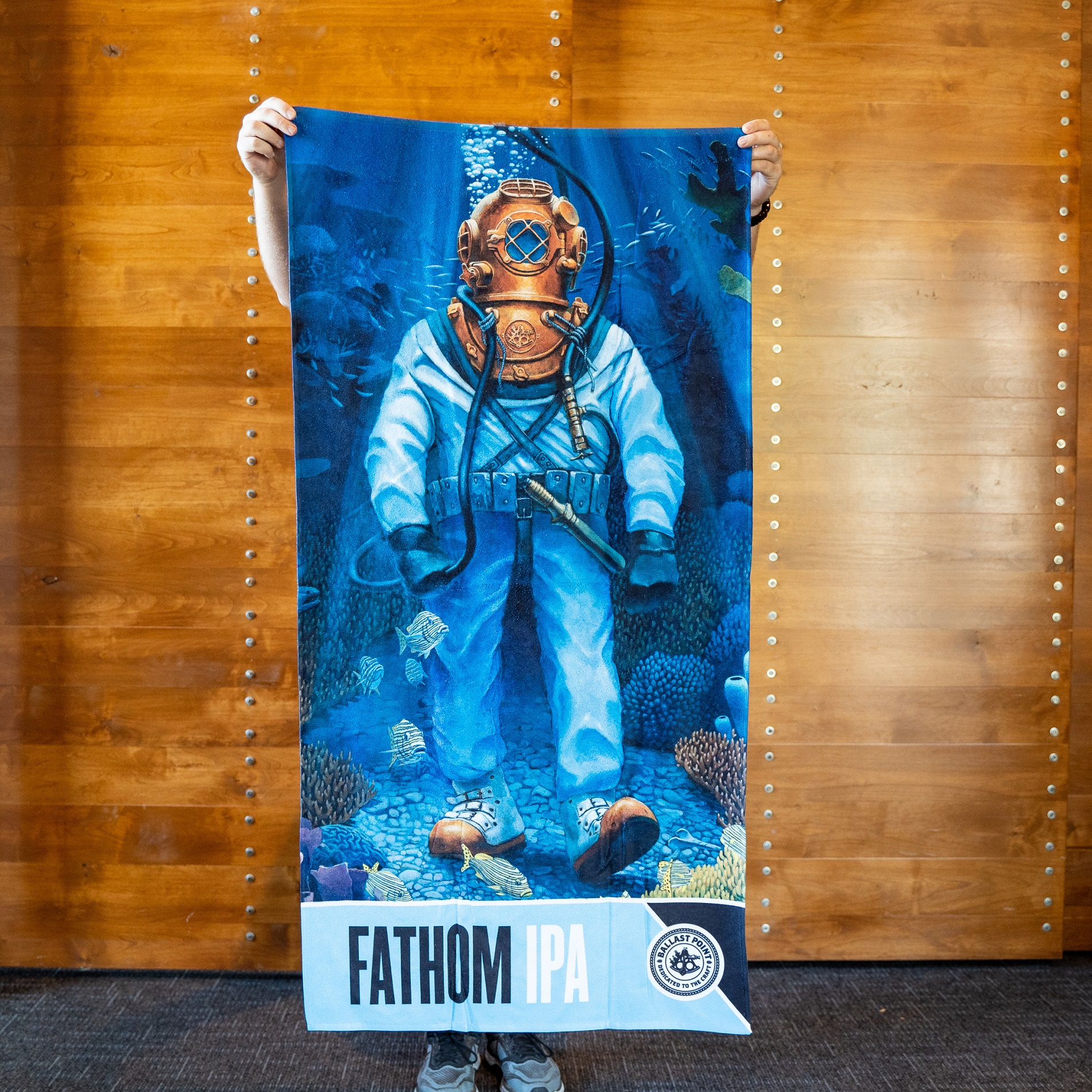 Ballast Point Fathom Beach Towel LARGE