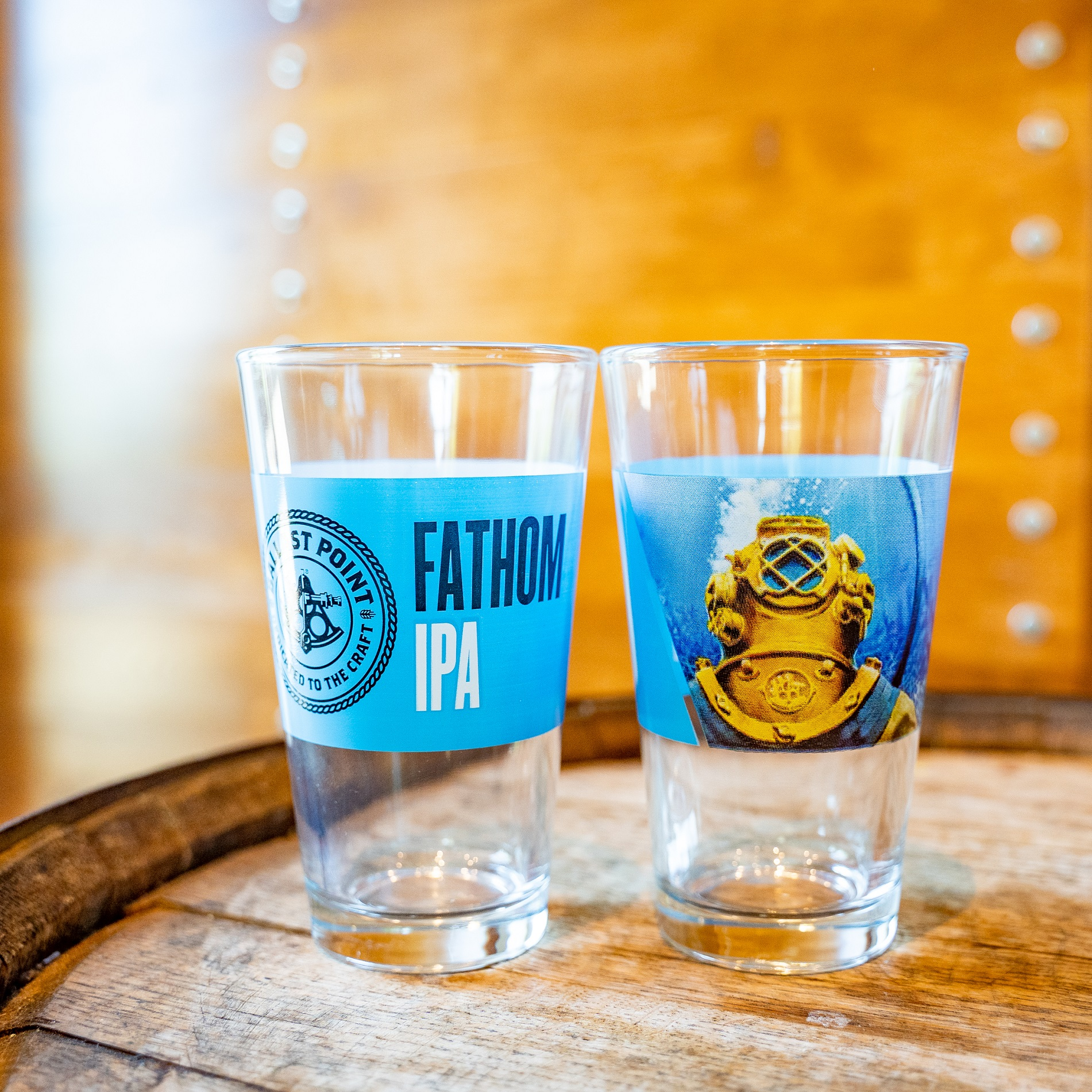 Ballast Point Fathom Pint LARGE